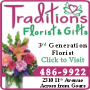 Traditions Florist and Gifts, your one stop in Haleyville