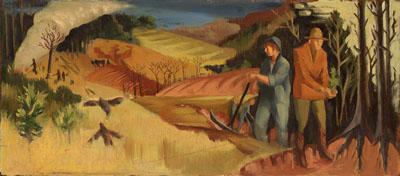 """""""Reforestation"""" by Hollis Holbrook"""